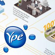 Folder infográfico para Ypê